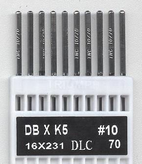 Vyšívací jehly TRIUMPH DBxK5 DLC 70/10