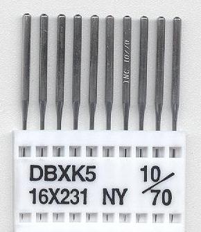 Vyšívací jehly TRIUMPH DBxK5 NY 10/70