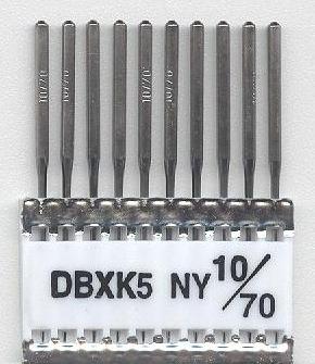 Vyšívací jehly TRIUMPH DBxK5 NY CM 10/70