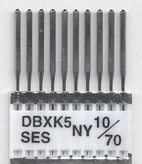 Vyšívací jehly TRIUMPH DBxK5 NY CM 10/70 SES