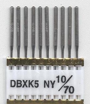 Vyšívací jehly TRIUMPH DBxK5 NY PVD 10/70