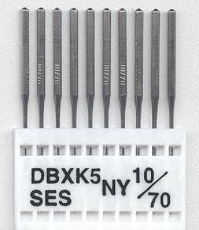 Vyšívací jehly TRIUMPH DBxK5 NY SES 10/70