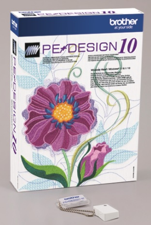 Vyšívací Software Brother PE-Design 10