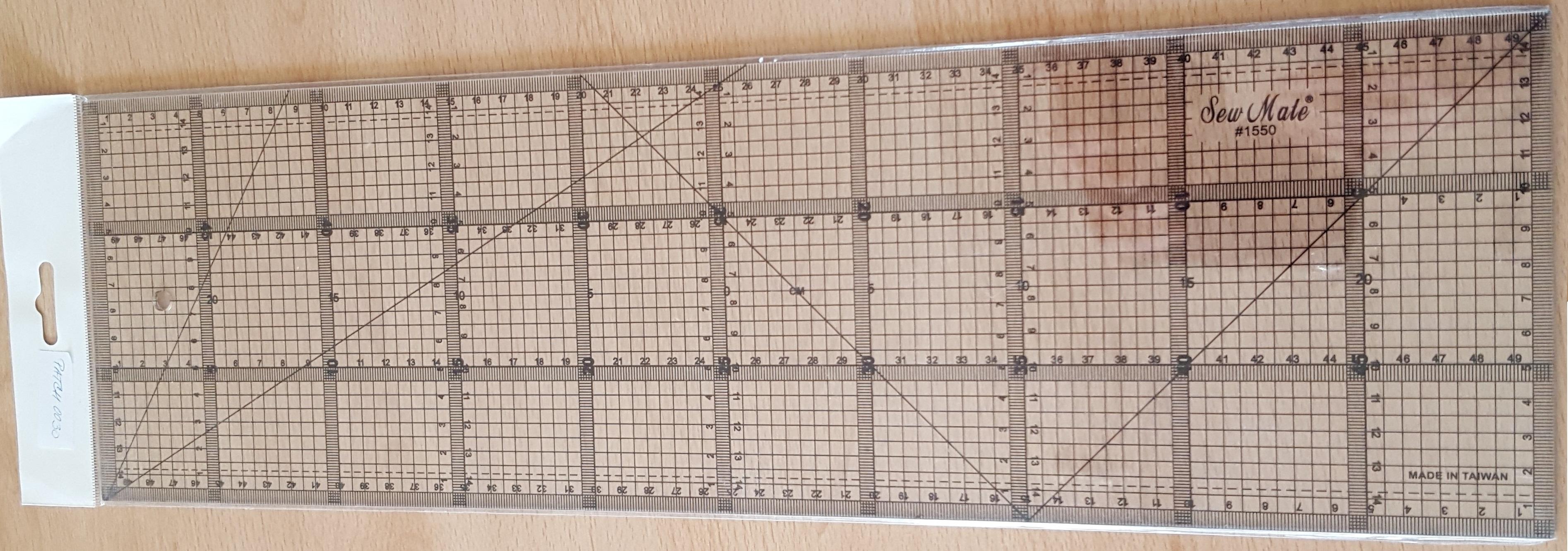 Pravítko 15 x 50 cm