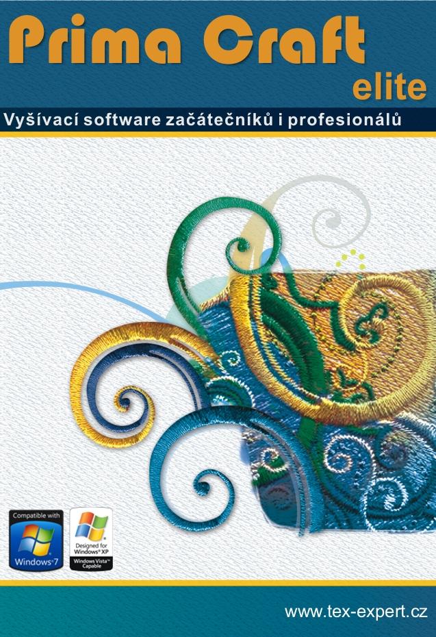 Vyšívací Software PRIMA Craft Elite (česká verze)